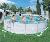 Bestway 14ft x 48in Steel Pro Frame Garden Pool